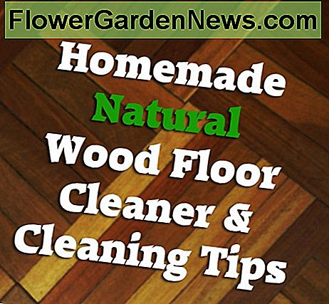 Learn to clean wood floors naturally and safely and prevent waxy buildup