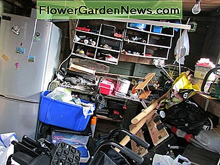You may have to clear the garage or basement first, to create space for a collection point