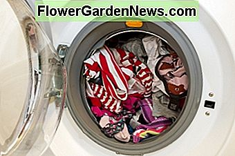 Don't leave your wash sitting in the washing machine too long, or color transfer can occur.