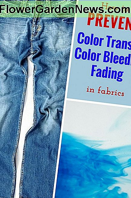 So verhindern Sie Fabric Color Transfer, Bleeding und Fading