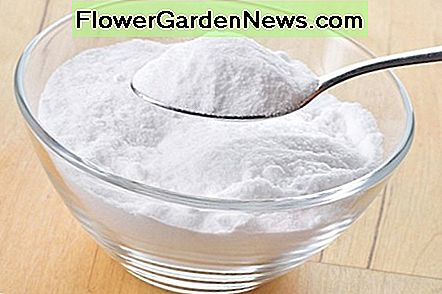 Baking soda is one of the best natural cleaning products due to its abrasive features.