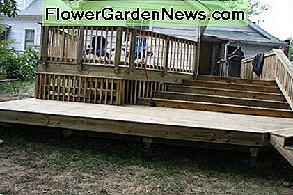 Enhance your outdoor space by building a deck.