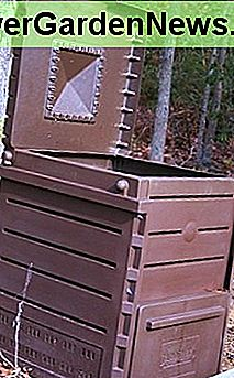 Traditional composting bins are just one of many options available to home gardeners.