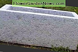 natural stone trough