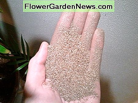 Vermiculite is very light and retains moisture well.