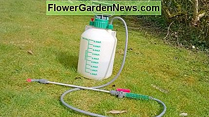 A small capacity sprayer like this one is very useful