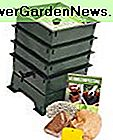Worm Factory DS3GT 3-Tray Worm Composter, Verde