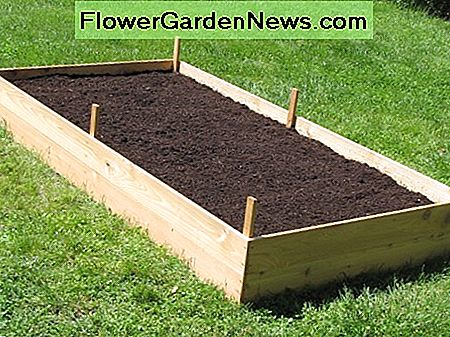 Wie man ein Cedar Raised Garden Bed baut