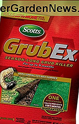 Scotts GrubEx, 5.000 m² (Grub Killer & Preventer) Netto gewicht. 14.35lb (niet verkocht in HI, NY)