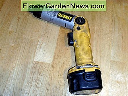 A well used cordless screwdriver. They're great for light duty use driving screws.