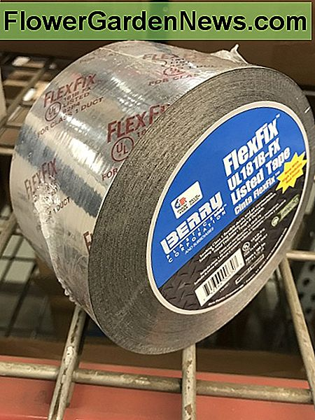 FlexFil is again a foil tape with it's rating stamped visibly that holds up well to smoke, mold, humidity, and higher temperatures. Also good for flexible ducting this might be the best choice for a crawl space.