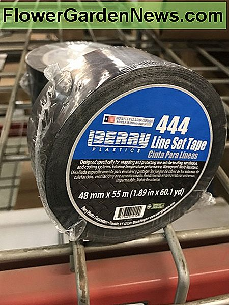 Lineset tape (Polyken 444) is one I'm just throwing in here so you know it exists. Using this on your A/C lines where the insulation is torn helps maintain proper temperatures inside the lines for efficient operation.