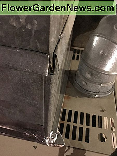 A gap in your duct work as small as this can still leak large amounts of air.