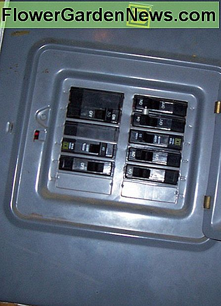 Breaker Panel. One of these should be dedicated to your A/C.