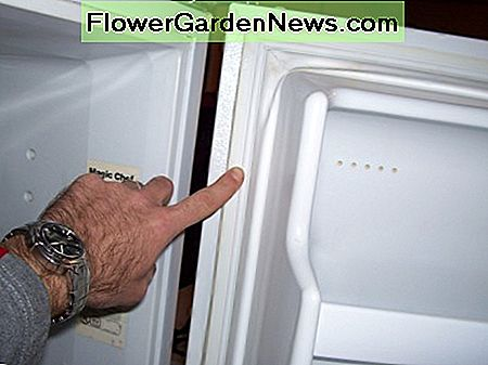 A slight smear of Vaseline on your refrigerator gasket at the jamb might make it a bit easier to open the doors.