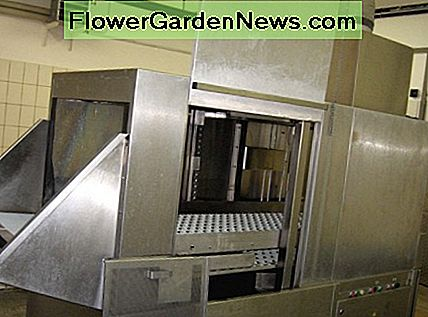 This a commercial dishwasher of a size found mostly in hotel restaurants.