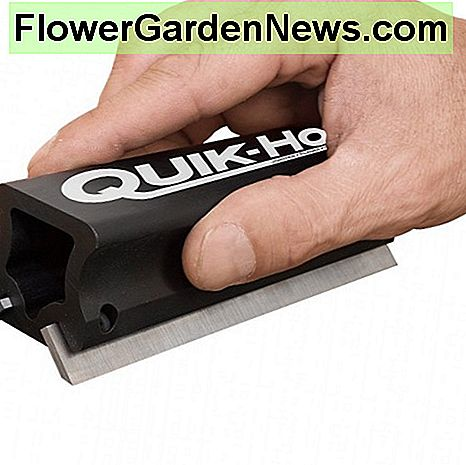 Quick-hone makes sharpening planer blades easy.
