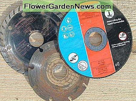 Abrasive and diamond cutting disks