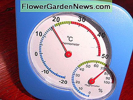 A low-cost hygrometer is the best way of measuring relative humidity (RH) levels in your home.