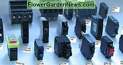 Various types of circuit breakers