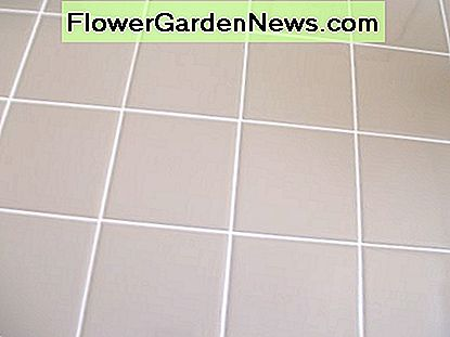 Where there is a tile, there is also grout.
