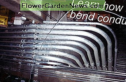 Learning how to bend conduit isn't difficult and a little practice can produce nearly any bend needed.