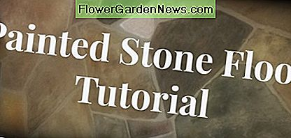 Gemalte Flagstone Floors - ein DIY-Tutorial