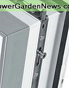 pvc window shoot bolt locking system