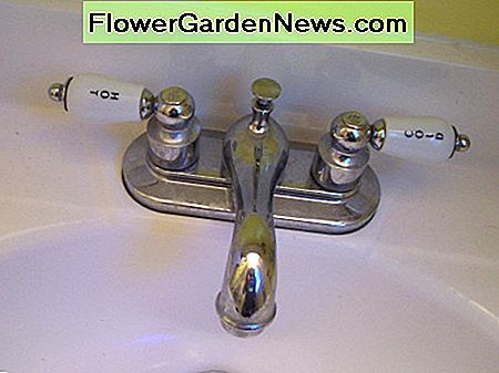 Simple 2 handle bathroom faucet.