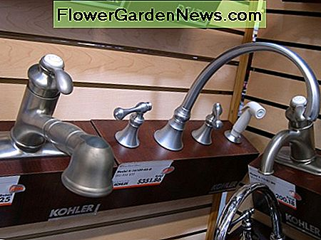 Single handle and widespread with sprayer kitchen faucet examples