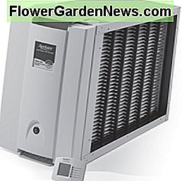 This is an example of an electronic air cleaner. They do a real nice job but do give you a little more to take care of to keep working at it's full potential.