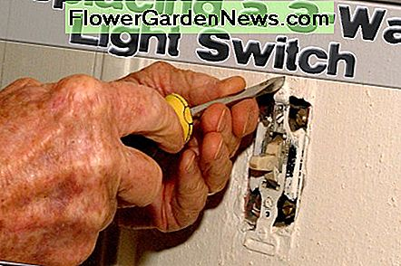 Replacing a light switch is a simple task, but be mindful of safety when doing so.