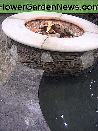 A fire pit is a simple outdoor fireplace design.
