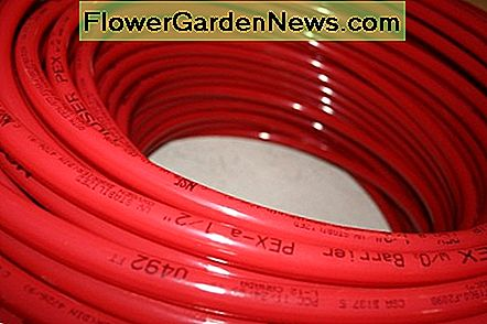Red Color Coded PEX Pipe