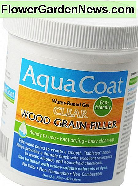 Aplicația Aqua Coat Clear Grain Filler