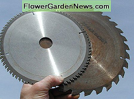 Fine pitch blades are available which give a cleaner cut