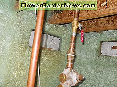 Main Water Shut Off Valve