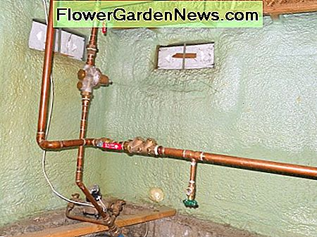 There are 2 red valves and 1 green valve in this photo; do you know which is which?