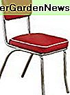 Coaster Woninginrichting Contemporary Dining Chair, Rood, Set van 2