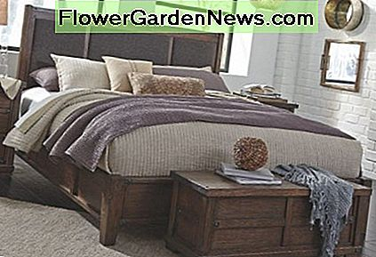 Here's an example of a storage chest at the foot of the bed.