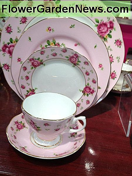 Dishes, either vintage or new with an old fashioned design, give your table just the right look.