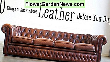 Leather Furniture Guide: Top-Grain zu verbundenem Leder