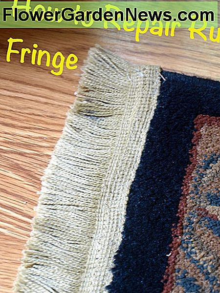 How to Repair Rug Fringe - A Step by Step Tutorial