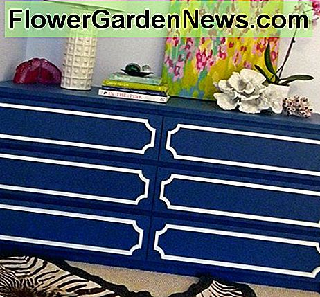 Ikea MALM dresser with O'erlays