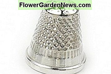 Thimbles protect your fingertips as well as aid in pushing the needle through thick leather