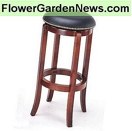 The Nailhead Swivel Bar Stool