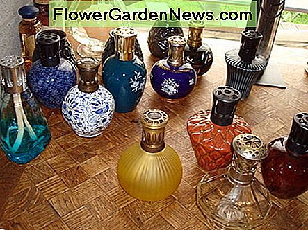 Aromatherapy and essential oil diffusers or burners to vaporize beautiful scents around your home
