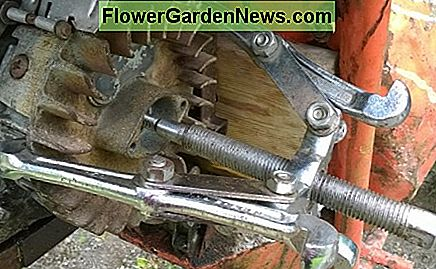 Ideally, remove a flywheel with pullers.