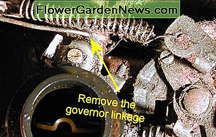 Remove the governor linkage.