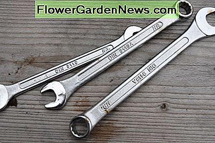Combination wrenches (spanners) - Open at one end and ring at the other